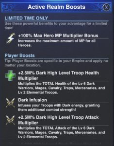 Trap Boosts
