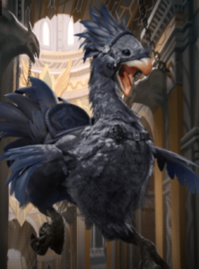 Ebony Chocobo Mount