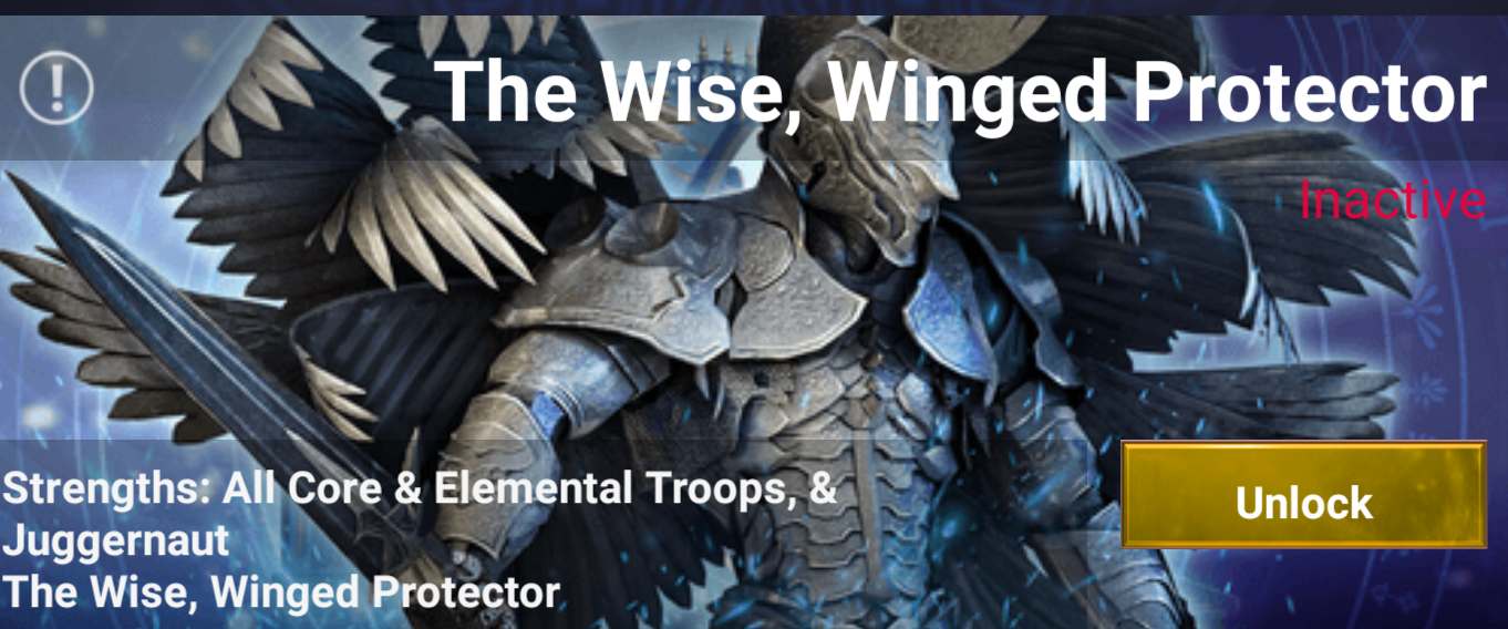 The WInged Protector