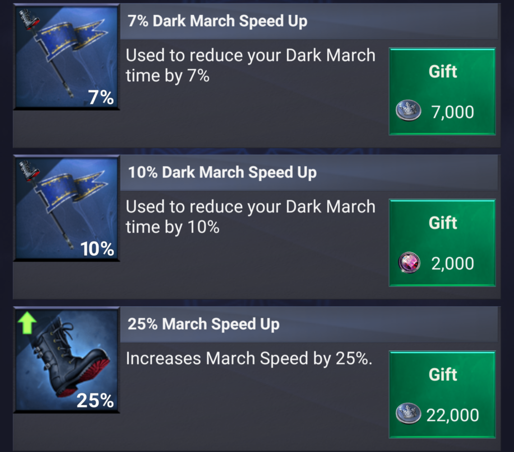 March Speed UPS