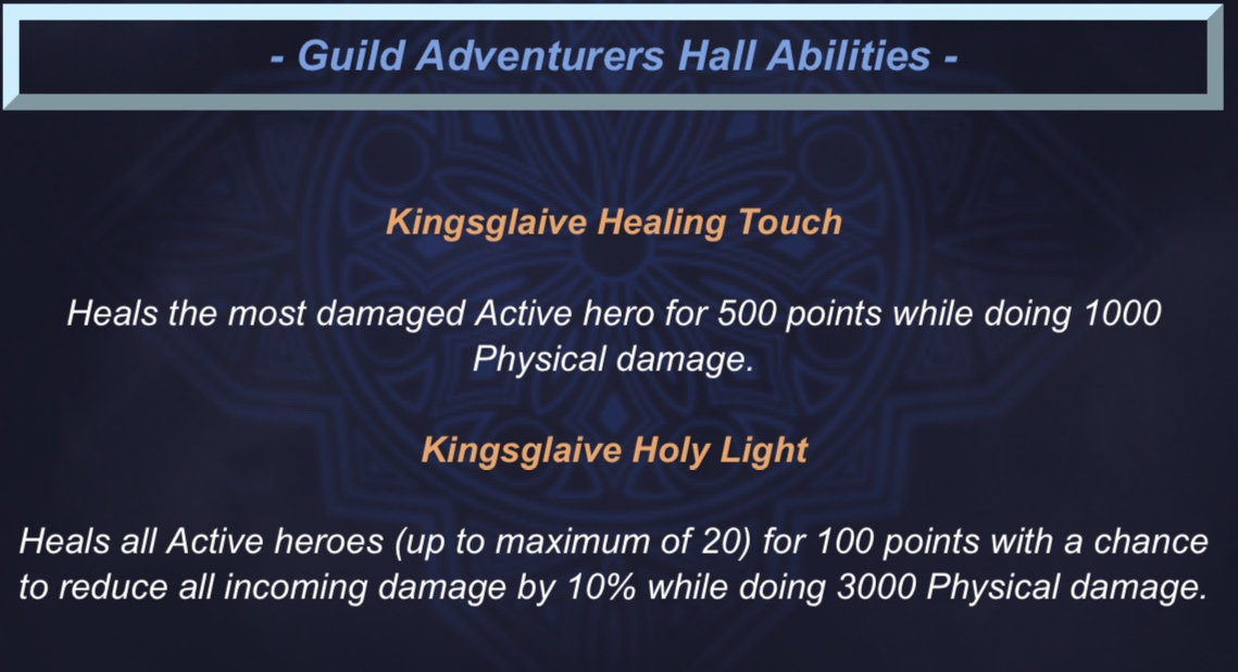 Kingsglaive Luna Dungeon Abilities