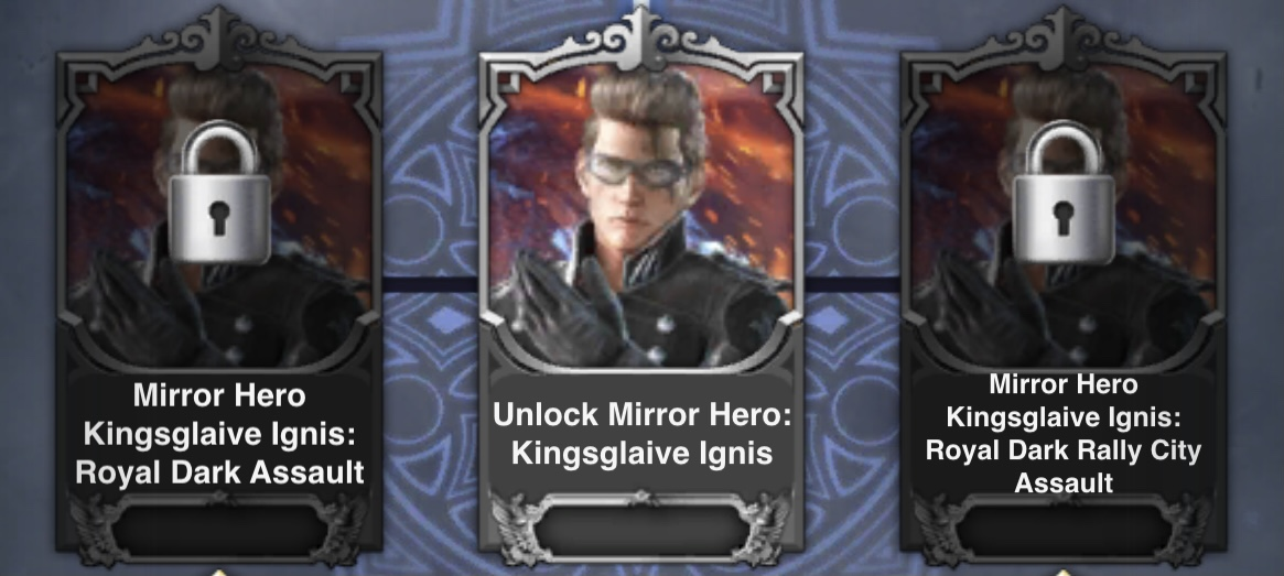 KG Ignis Mirrors