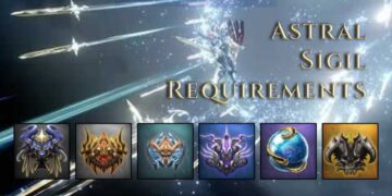 Astral Sigil Requirements